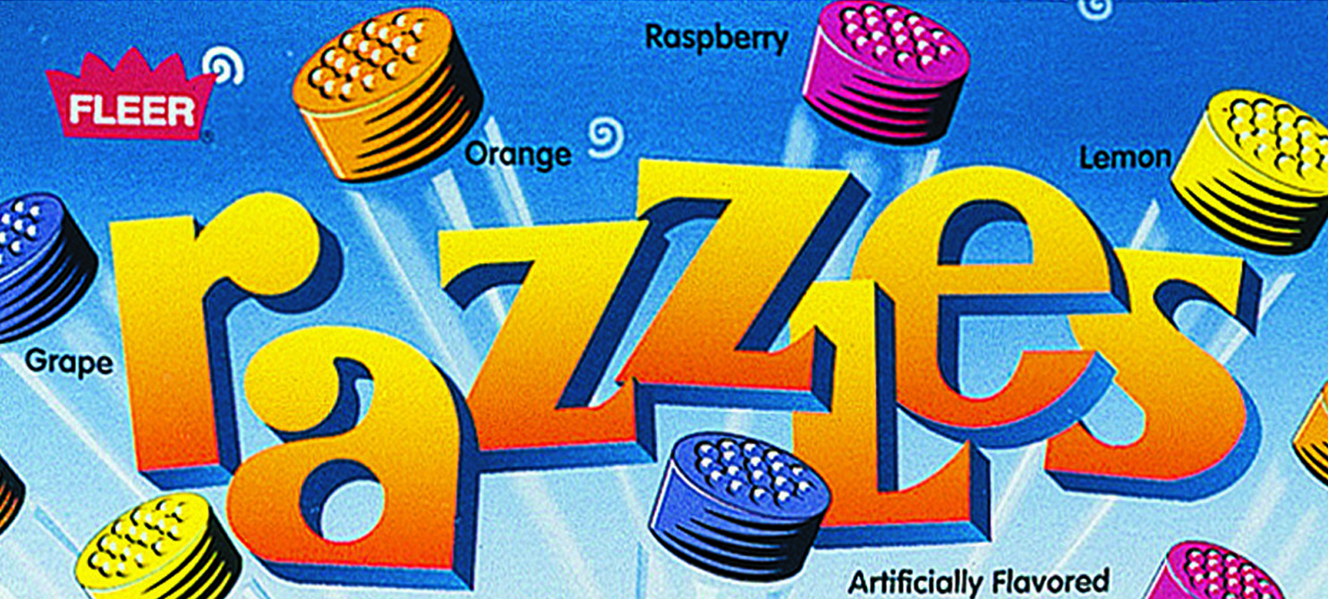 Razzles Packaging