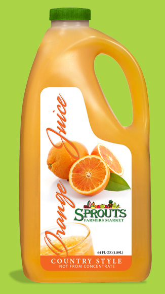 Sprouts Orange Juice
