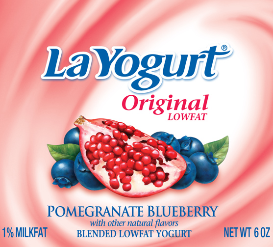 LaYogurt Package / Illustration